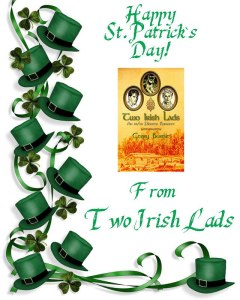 Irish hat st pat's ad