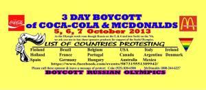 boycott sponsors
