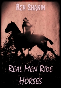 real men ride horses - cover