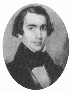 Portrait of Joshua Fry Steed as a young man