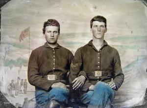 vintage CW soldiers