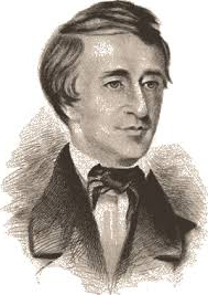 thoreau in love - portait