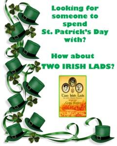 TWO IRISH LADS AD