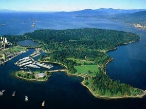 Stanley Park, Vancouver, British Columbia. Ranked among the worlds most  outstanding parks