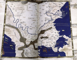 Dacia map cf. Ptolemy (2nd century AD)